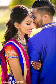 Sweet pre- Indian wedding photography. https://www.maharaniweddings.com/gallery/photo/148009