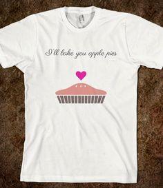 #applepie #tasty #love #food #relationships #americanapparel #tshirt #shirt #tanktop #skreened