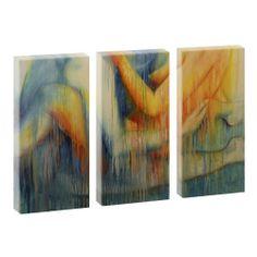 Top Bilder Kunstdruck auf Leinwand XXL  Berührung 3-Teiler-je 40cm*80cm V0500049