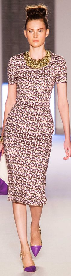 Ethnic Fusion --- Aigner Collection Spring 2015 Ready to wear