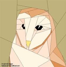 pieced owl quilt block - Google Search