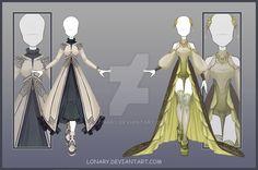 [Close] Design adopt_158-159 by Lonary.deviantart.com on @DeviantArt