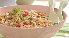 tomato herb pasta (1001 Ways to Cook Southern)... one of my fav dishes to make for parties
