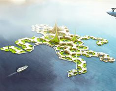 floating city project, seasteading, the seasteading institute, self-sufficient community, self-sufficient floating community, floating cities, floating residential communities, world's first floating city, floating city plans