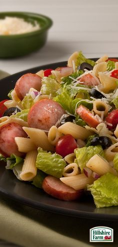 Looking for something lighter to bring to the next block party or BBQ? A Caesar Pasta Salad with Hillshire Farm® Smoked Sausage is a surefire hit! Find this recipe and more tasty summer flavors here.