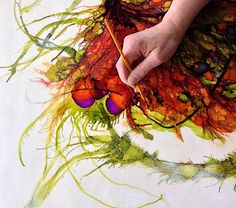 Alicia Tormey at work....www.aliciatormey.com