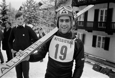 Sternstunden in Kitzbühel: Auch Alfred Matt war damals für Österreich auf der Streif am Start. In dieser Saison holte er den Slalom-Weltcup, wurde im Gesamtweltcup Vierter. Mehr Fotos finden Sie hier: http://www.nachrichten.at/nachrichten/fotogalerien/cme155574,982555 (Bild: Schaadfoto)