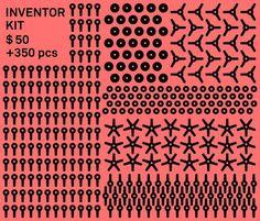 Inventor Kit – Strawbees
