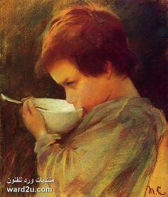الفنانه الانطباعيه الامريكيه مارى كاسيت Mary Cassatt