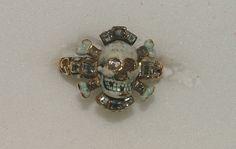 centuriespast:    Memento Mori ring  17th century  Bought in Florence  The Ashmolean Museum
