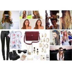 """""""Oh, if the sky comes falling down, for you There's nothing in this world I wouldn't do."""" by barbarabeatriz on Polyvore"""
