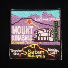 59 Best Patch Collection images in 2017 | Patches, Kinabalu