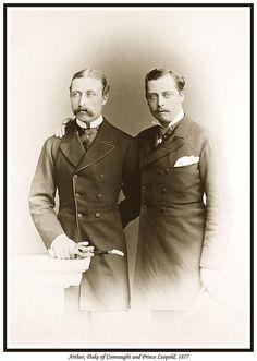 prince leopold & Prince arthur