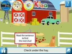uKloo ($0.00) a fun seek-and-find literacy game for ages four and up. It encourages kids to look up word clues, search the play screen and discover surprises along the way! There's even a picture helper to look up words when kids get stuck. Soon, your child will be reading without even realizing it!