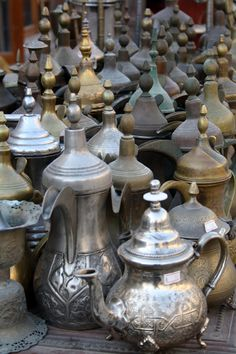 Teapots - Doha, Qatar - Explore the World with Travel Nerd Nici, one Country at a Time. http://TravelNerdNici.com