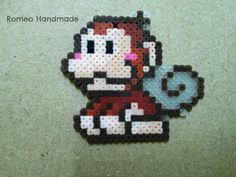 Little monkey perler beads by TheRomeo LN