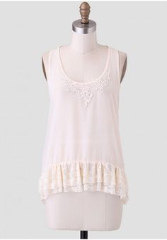 Dearest Wish Lace Top