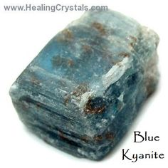 Kyanite brings a calming, tranquilizing energy to the body. Kyanite clears and calms you in preparation for meditation, and assists in receiving intuitive and psychic thoughts, as well as dream recall. Kyanite restores Qi (or Ki) to the physical body, and balances yin/yang energies.  Code HCLOVEU = 15% discount on our site during Feb 2015, www.healingcrystals.com.   www.healingcrystals.com/advanced_search_result.php?dropdown=Search+Products...&keywords=Kyanite