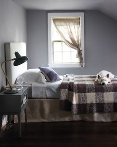 Gingham knit blanket. Pattern at marthastewart.com