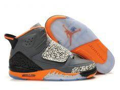Air Jordan Son Of Mars mens basketball shoe - Grey/Yellow