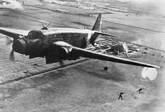 The Savoia-Marchetti SM.82 was an Italian bomber and transport aircraft of World War II. It was a cantilever, mid-wing monoplane trimotor with a retractable, tailwheel undercarriage. There were 726 (plus one prototype) built, the first entering service in 1940. Although able to operate as a bomber with a maximum bombload of up to 8,818 lb (4000 kg), the SM.82 saw very limited use in this role.