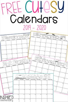 Free calendars for These printable cutesy calendar promotional gifts are great for preschool and primary school teachers who want students to make a Christmas calendar gift for parents. Teacher Calendar, Preschool Calendar, Classroom Calendar, Kids Calendar, Preschool Curriculum, Kindergarten Classroom, Make A Calendar, Homeschool, Classroom Teacher