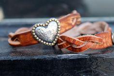 Braided Brown with Heart...sooo pretty!!