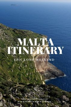 Malta Itinerary - how to have an epic long weekend on the island