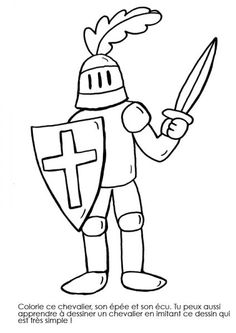 Knights and dragons: knights for coloring Ancient Egypt Fashion, Ancient Egypt Crafts, 2nd Grade Crafts, Christmas To Do List, Christian Preschool, Dragon Knight, Armor Of God, Animal Coloring Pages, Drawing For Kids