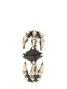 KD2024 - D-CLAW RING - LUISAVIAROMA - LUXURY SHOPPING WORLDWIDE SHIPPING - FLORENCE