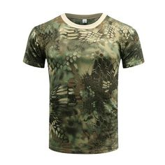 Hearty Wolfonroad Summer Tactical Army Tshirt Men Shirt Outdoor Hiking T Shirt Short Sleeve Shirts Camouflage Hunting T-shirt L-jne-01 Complete In Specifications Wrench
