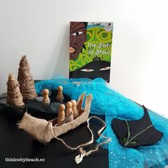 The fish of Māui by Peter Gossage inspired this invitation to play. Loose parts, a waka, ika and peg dolls are used to invite play and the retelling of the narrative. Early Childhood Activities, Early Childhood Education, Play Based Learning, Early Learning, Teaching Resources, Teaching Ideas, Primary Teaching, Classroom Resources, Montessori