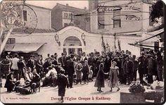 Kadıköy Çarşısı'nın küçük meydanında yer alan Ayia Efimia.Euphemia Kadıköy'ün Kalkhedon zamanından meşhur azizesidir.