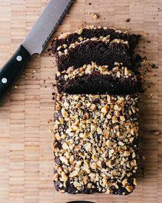 Chocolate Banana Bread via @acouplecooks