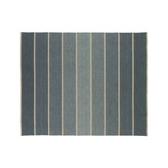 Crate and Barrel - Bold Blue Stripe 8'x10' Rug - $599 -- For the dining room!