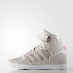 adidas EXTABALL UP W Pearl Grey $85.00 by Adidas