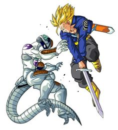 Trunks and Freeza