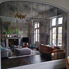 Antique Mirror Glass, Distressed Mirrors, Mirrored Tiles & Splashbacks