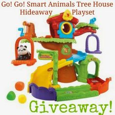 Everyday Love: A GIVEAWAY!!!! VTech Go! Go! Smart Animals Tree House Hideaway Playset #favoritetoys