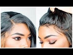 HOW TO CUSTOMIZE YOUR LACE FRONT WIG & MAKE IT LOOK NATURAL | BeautyandMarie - YouTube