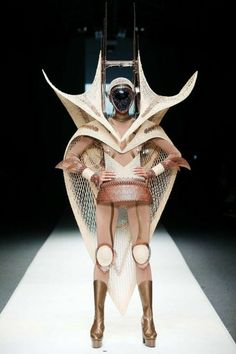Extremely futuristic fashion