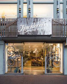 David Baker Architects: Huckleberry Bicycles