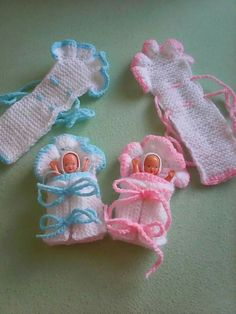 Picture of Mini Broom Dolls 1 Crochet Pattern Leaflet Baby Doll Clothes, Doll Clothes Patterns, Barbie Clothes, Doll Patterns, Knitting Patterns, Crochet Patterns, Knitted Dolls, Crochet Dolls, Crochet Design