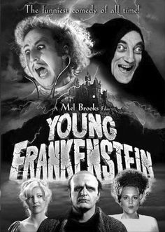 Young Frankenstein - truly one of the funniest moves EVER! Madeline Kahn, Funny Movies, Old Movies, Scary Movies, Funniest Movies, Comedy Movies, Vintage Movies, Marty Feldman, Mel Brooks Movies