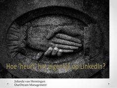 Zoals tijdens het netwerken 'in real life' de etiquette belangrijk is, zo is dat ook van toepassing op LinkedIn. Weten hoe het hoort, helpt jou om beter te kunnen netwerken en jouw doelen te behalen. Je bent op LinkedIn onder andere bezig met het uitbreiden van jouw zakelijke netwerk. Het eerste contact op LinkedIn is dan ook een eerste indruk en vaak veelzeggend.