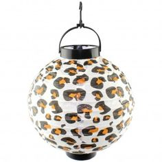 Leopard Print Paper Lantern | [ANJDELA01] - Discount Party Supplies