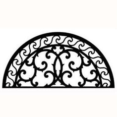 Solid wrought iron half circle wall art crafted out of solid wrought iron in central New York. Add a touch of old world style to your home with this solid piece of artistic splendor. Wall art style 197 measures W x H and weighs seven pounds. Wrought Iron Wall Decor, Metal Wall Decor, Iron Decor, Tree Wall Decor, Wall Art Decor, Contemporary Metal Wall Art, Pokemon, Wall Sculptures, Metal Walls