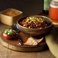 "1,027 Likes, 7 Comments - Taste of Home (@tasteofhome) on Instagram: ""MVP Chili ""While chili snobs will argue over what true chili really is, you'll be enjoying this…"""