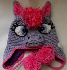 Pony Crochet Hat Pattern by WistfullyWoolen on Etsy, £2.89