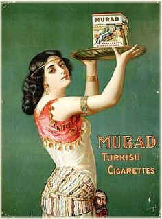 Orientalist advertisement - Late 1800 early 1900's?